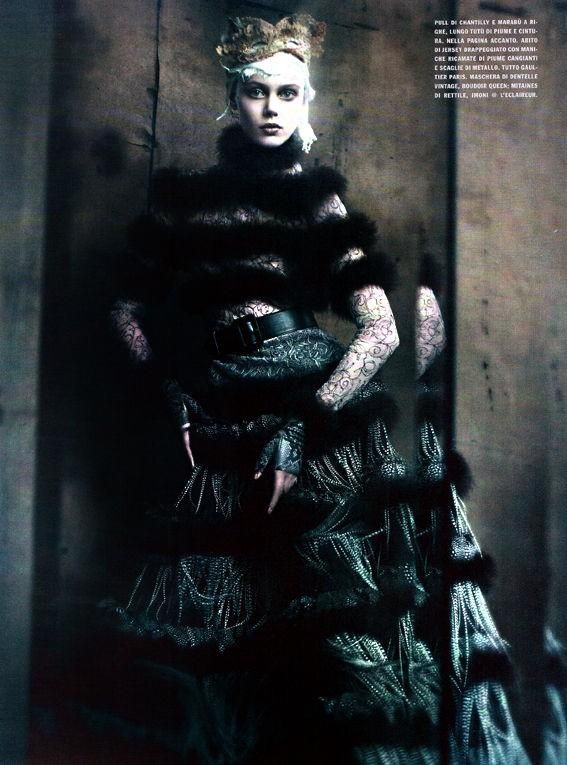 Haute Couture (September 2011 Supplement)  client: vogue italia