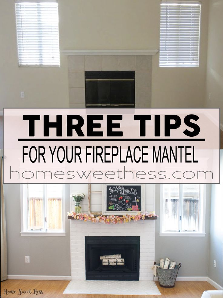 Fireplace Mantel Ideas REPIN if you like