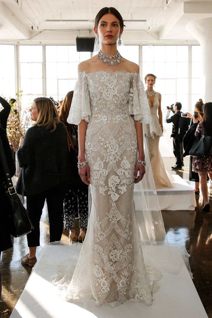 Pin for Later: 100 Stunning Wedding Dresses For Spring 2017 Brides Marchesa Bridal Spring/Summer 2017