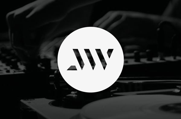 Logo Design / John William (DJ-Producer) by Maarten van 't Wout, via Behance