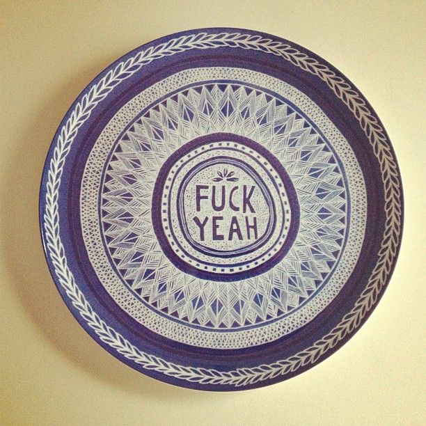 """@Paper Runway where passion meets paper's photo: """"My new cake plate thanks @jaivasicek makes me laugh!"""""""