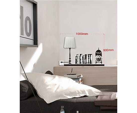 Настенный стикер Shelf - пластик - черный - Ш100хВ80