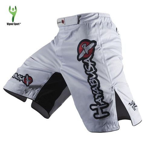 HAYABUSA - White MMA Shorts - Print 2