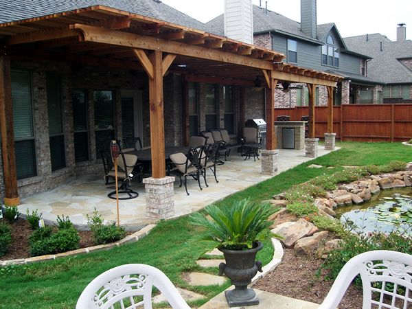 Find this Pin and more on Outside home ideas. - 25+ Best Ideas About Backyard Covered Patios On Pinterest
