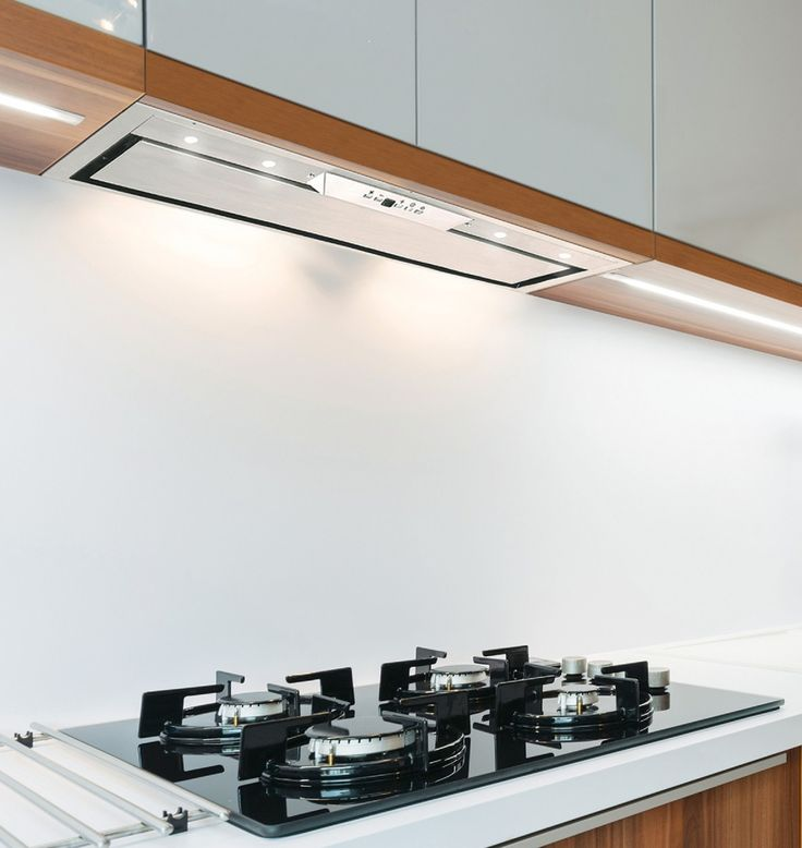 79cm Built-In Canopy Cooker Hood – Stainless Steel Finish – LED Lights Key Features: –  Stainless Steel Touch Controls Display Screen Anti-grease aluminium filters Internal Motor with a maximum extraction rate of 700m3/h Noise level between 54-60dbs. Plug fitted Designed to be installed in a 90cm wall unit Ducting size is 150mm