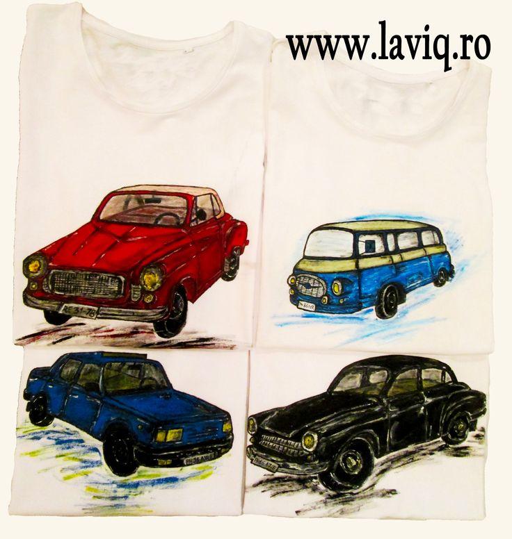 Tricouri pictate WARTBURG uri www.laviq.ro www.facebook.com/pages/LaviQ/206808016028814
