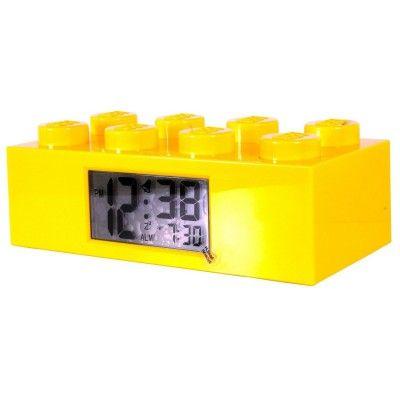 Réveil Brique géante Lego : Jaune Lego - Magasin de Jouets pour Enfants