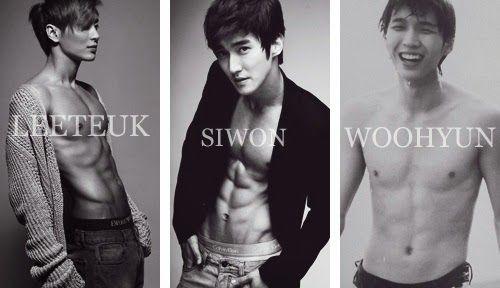 22 Idols masculinos del Kpop de Corea del Sur y sus poderosos abdominales atractivos - Espacio Kpop