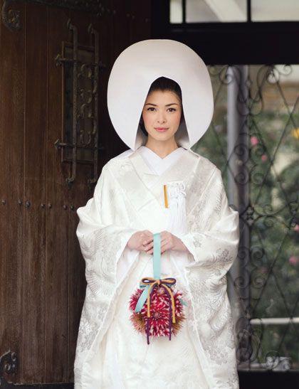 312 best images about wedding kimonos on pinterest japan Wedding dress japan