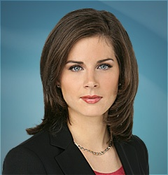 Erin Burnett is an American journalist and news anchor, currently the anchor of her own news show on CNN, Erin Burnett OutFront. -JBH-