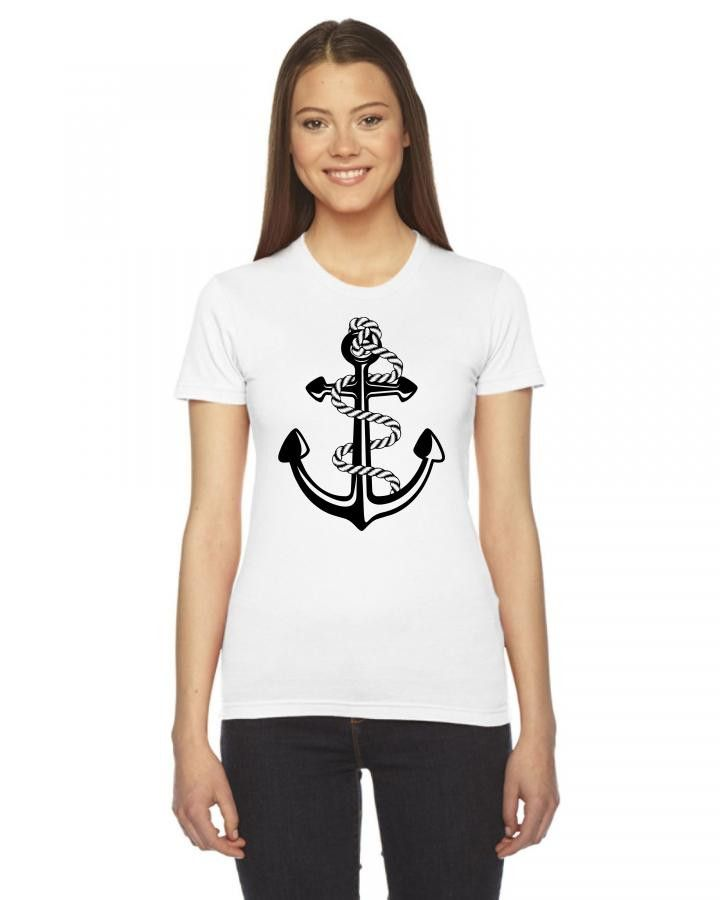 Pablo Escobar's Anchor Ladies Fitted T-Shirt
