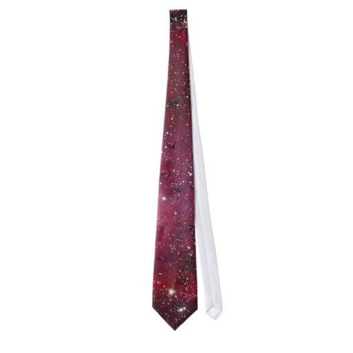 Lagoon Nebula mens tie