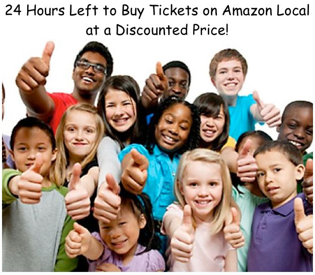 Hurry! Save time and money by purchasing your tickets now on Amazon Local! It takes just a few clicks to avoid the lines and keep a few extra dollars in your pocket.  The special ends tonight at midnight! Click here to purchase:  http://local.amazon.com/fairfield-county/B00IDD7K22