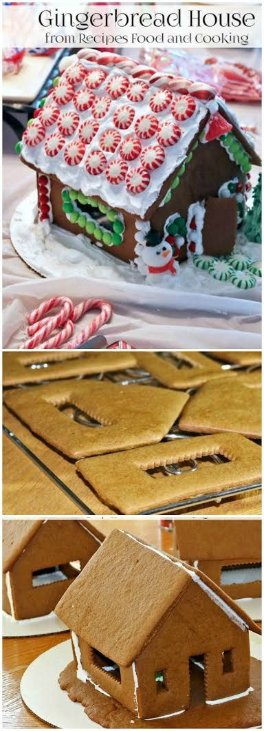 Homemade Gingerbread Houses are the perfect holiday activity.  Plus, they taste great!