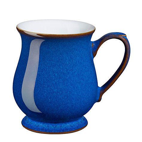 Buy Denby Imperial Blue Craftsman's Mug Online at johnlewis.com