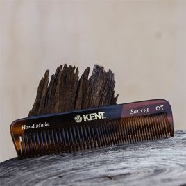"Peine para Barba de Bolsillo ""Kent"" (Doble textura)"
