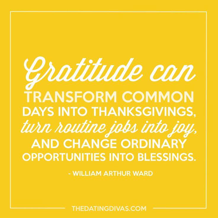 Gratitude for all our blessings!