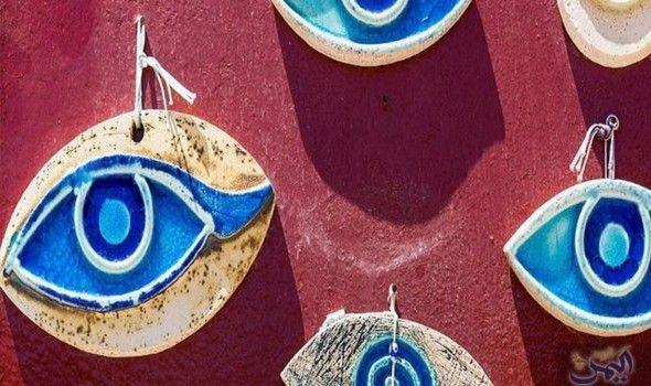 قصة تميمة عين الحسد التي إمتدت إلى هياكل الطائرات Handmade Evil Eye Evil Eye Jewelry Evil Eye Charm