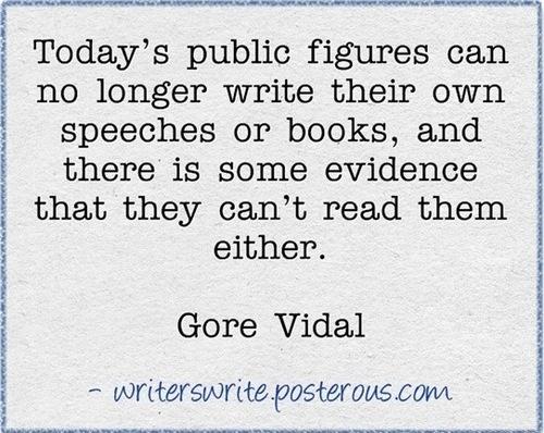 "gore vidal essay Gore vidal on writing  essays, 1952 - 1992 gore vidal: writer against the grain was edited by jay parini ""writer against the grain"" was a session of the 2009 key west literary seminar ."