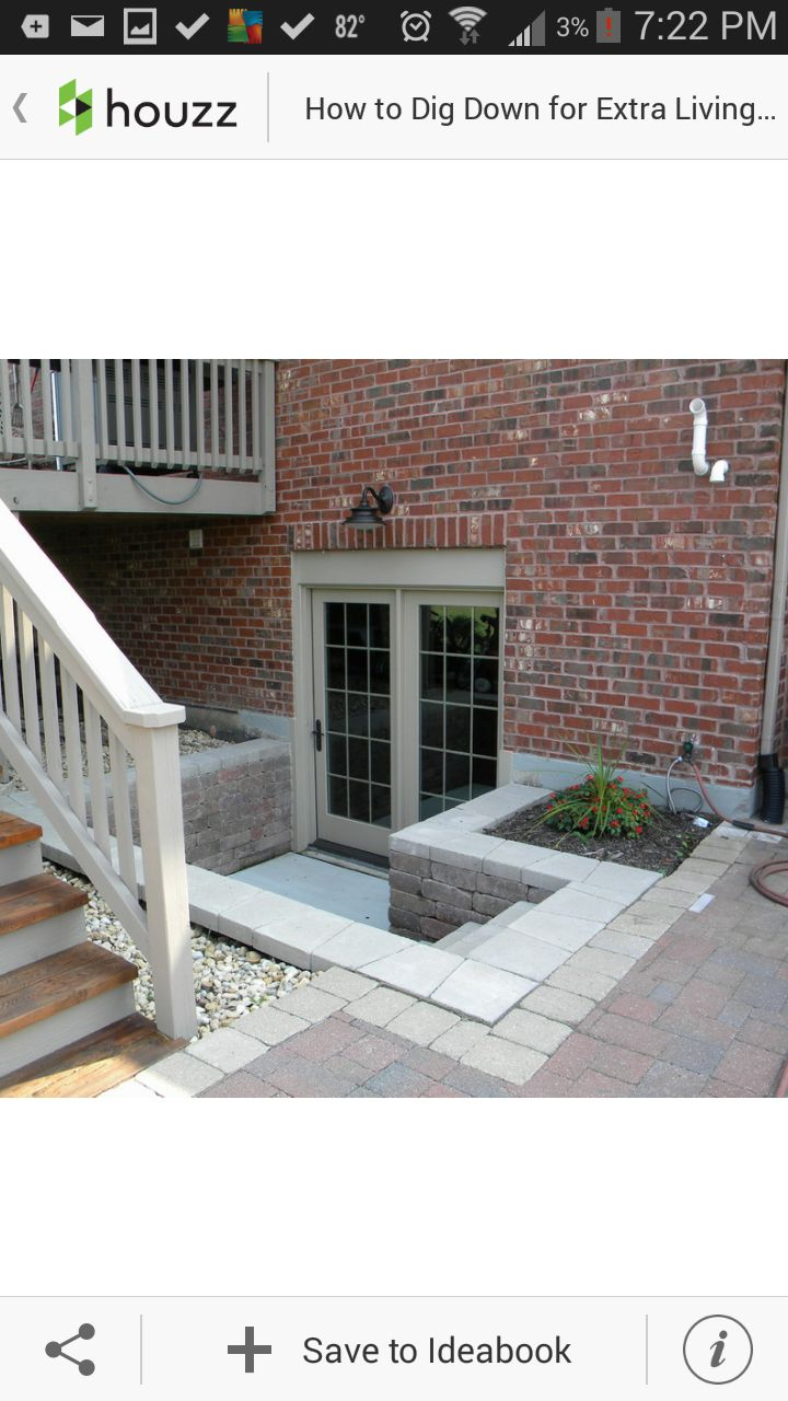 Beautiful Adding A Basement Entrance