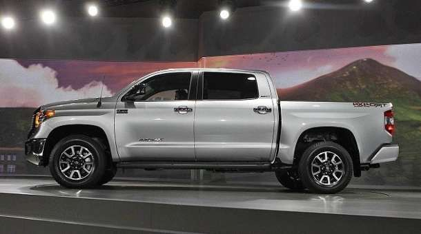2016 Toyota Tundra side view 2