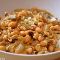 Cajun Black-Eyed Peas - Dr. Mark Hyman. We have many this many times and enjoy it-- with lots of hot sauce.