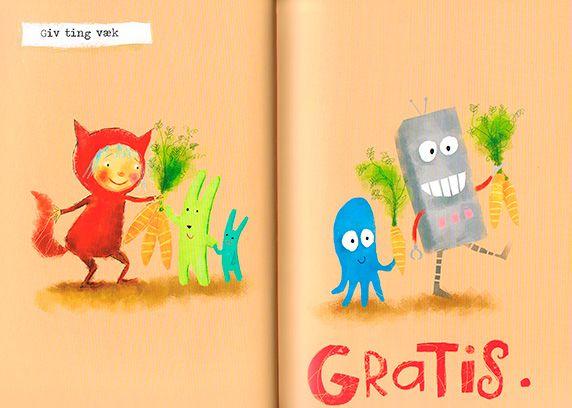 Eftertænksomme og kloge bøger til ditto børn.