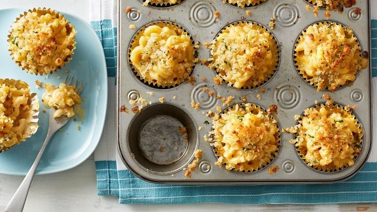 Muffin-Tin Mac and Cheese Cups