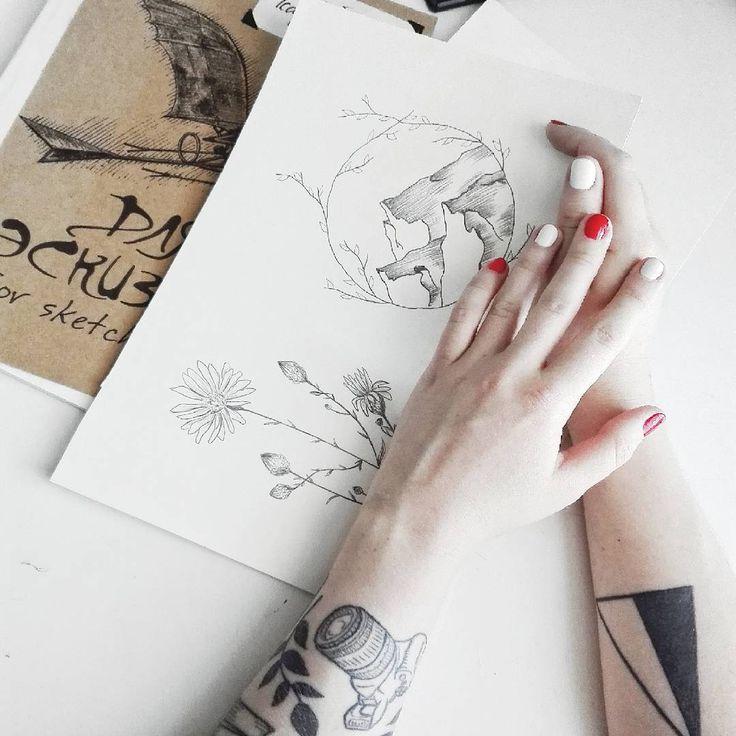 nails hands art minimal pencil sketch
