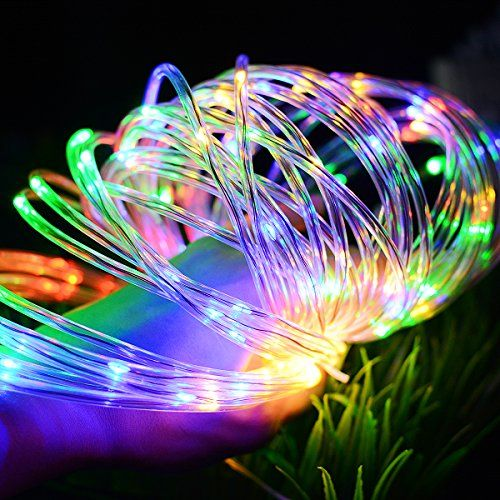 Solar Powered 100 LED String Light Garden Yard Decor Lamp Outdoor Waterproof