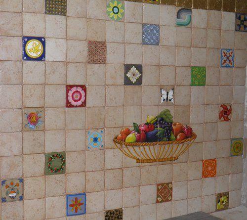 handmade kitchen tiles Rhodes.