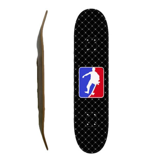 Easy People Skateboards SB-1 Blank Skateboard Deck-Black-NSA