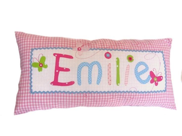 Childrens Pillows, Namenskissen