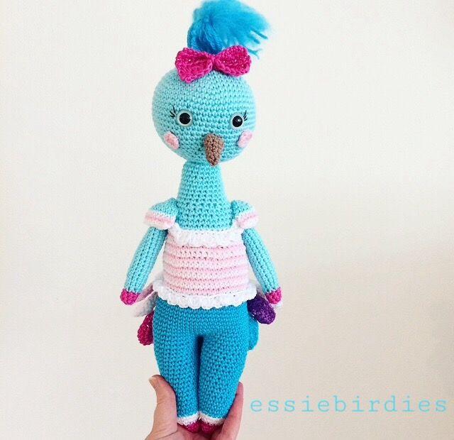 Mejores 308 imágenes de Crochet Birds & Owls en Pinterest ...