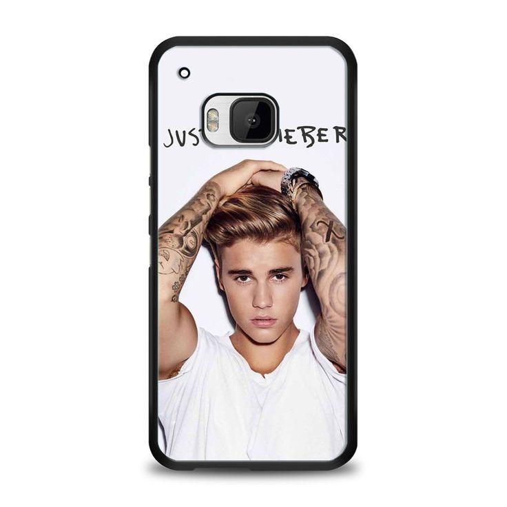 Justin Bieber Poster HTC One M9 | yukitacase.com