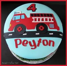 fire truck cake - Google Search