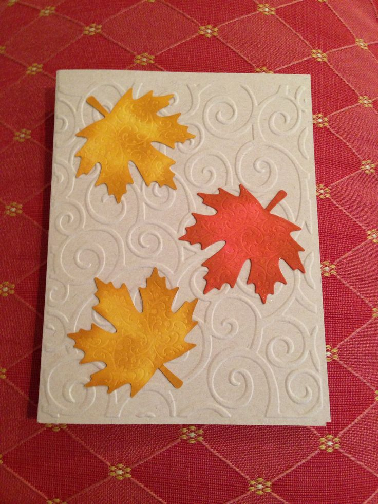 Ideas For Thanksgiving Cards To Make Part - 33: DIY: Best Ideas Of Handmade Thanksgiving Cards Pictures) - Awesome Indoor U0026  Outdoor