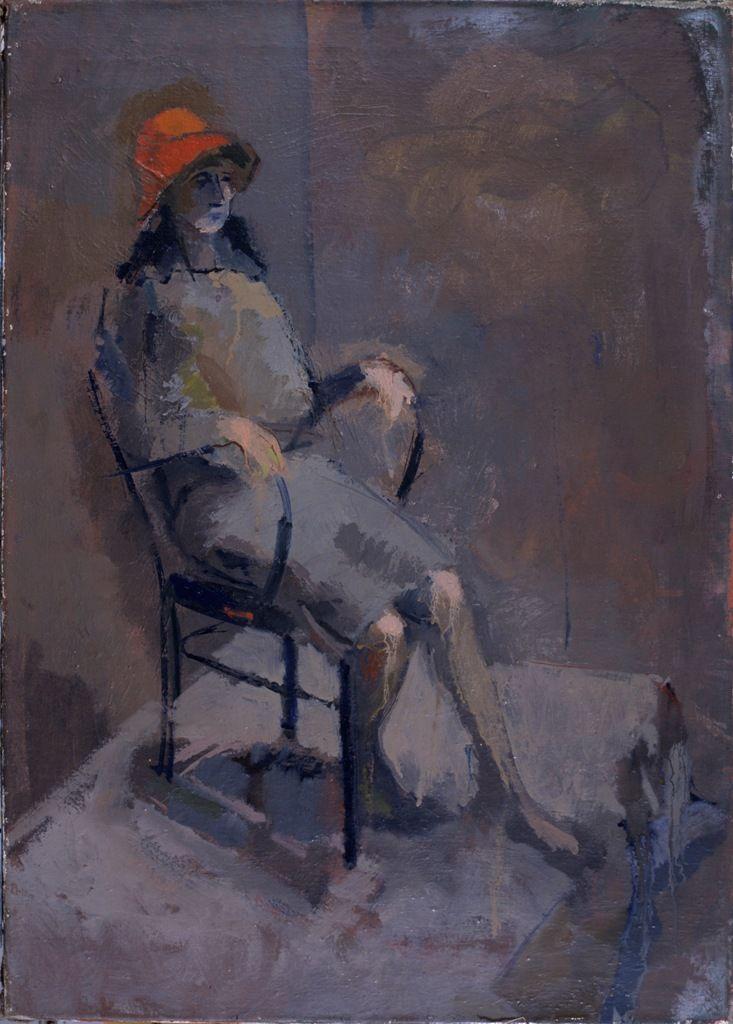 """Erotissimo"" 50x70cm tempera painting on canvas"