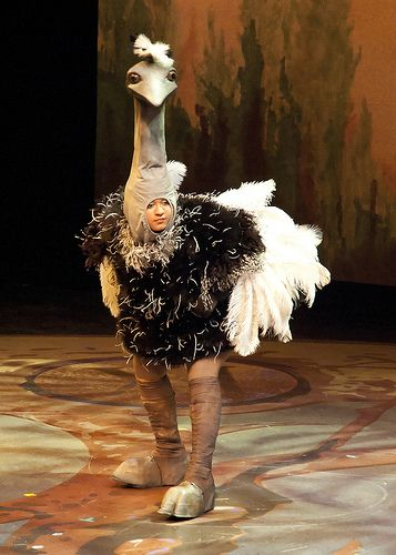 Draper for Ostrich Costume   Flickr - Photo Sharing!