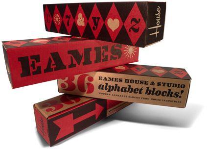 Eames House Blocks - House Industries