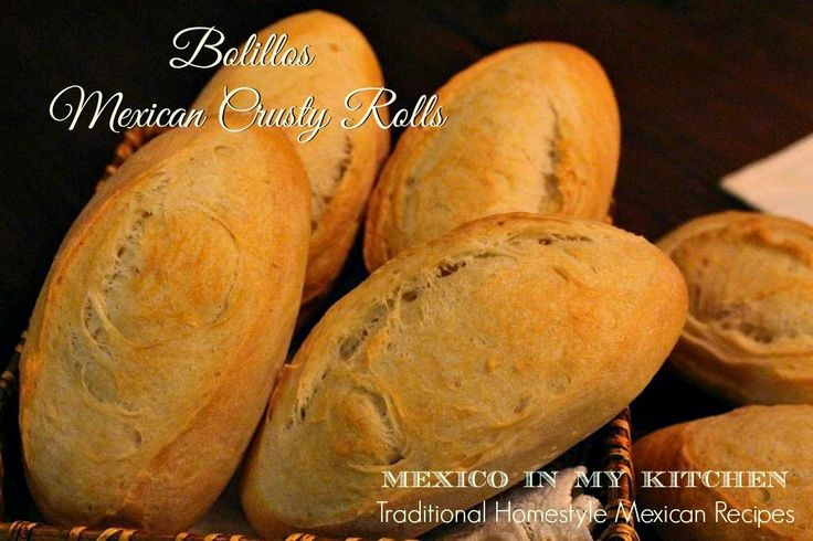 How to make Mexican bolillo pan frances