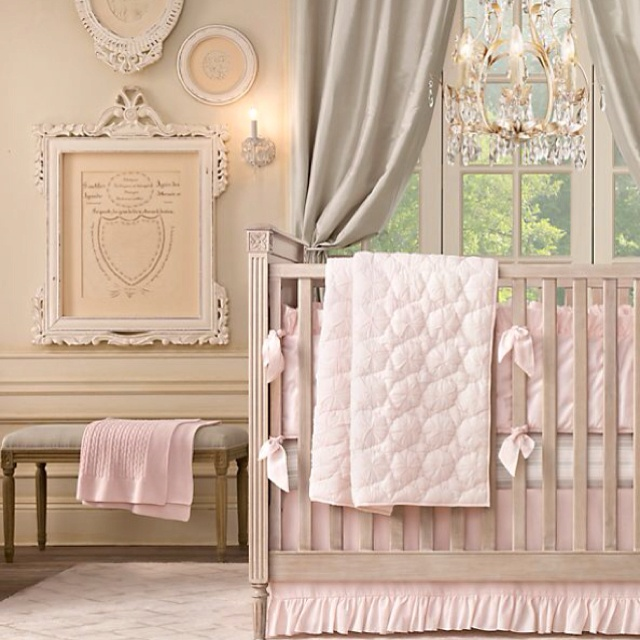 Baby Room Peach And Green