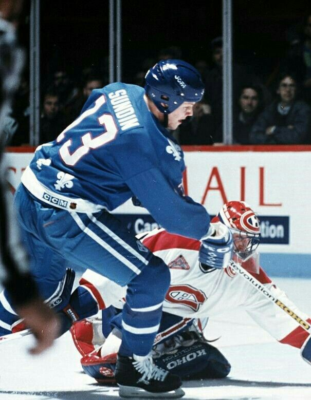 Mats Sundin | Quebec Nordiques | NHL | Hockey