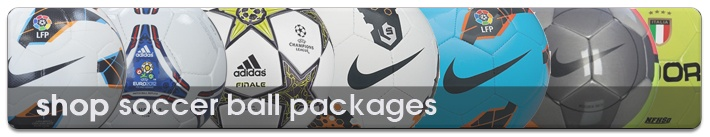 Look at the latest Soccer ball packeges at Soccercorner.com