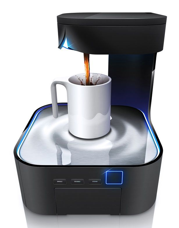 Coffee Machine Design for Peel by HJC Design