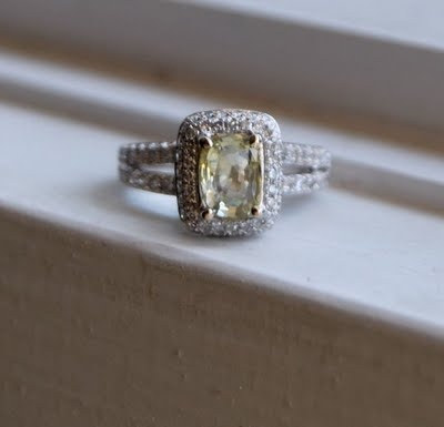 This is the best! I'm officially obsessed with this ring.