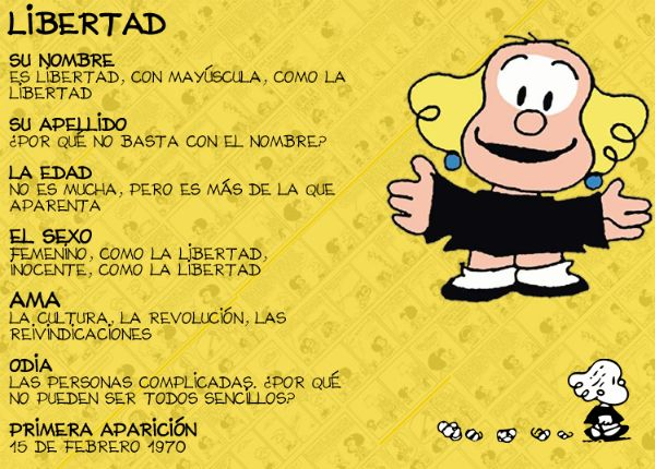 Mafalda-Quino-Libertad-Biografía