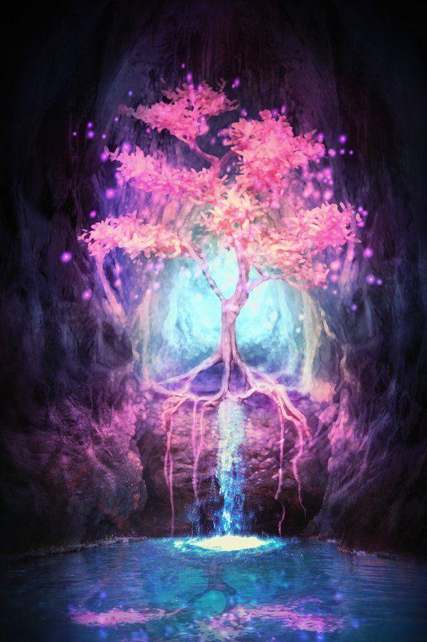 Tree of Light by LiliaOsipova.deviantart.com on @deviantART