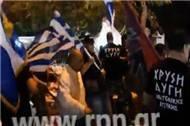Yunan ırkçılar göçmen pazarını savaş alanına çevirdi