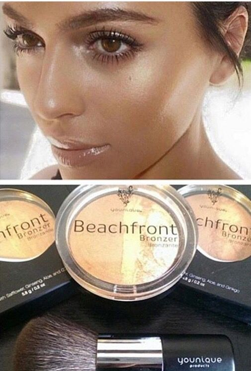 Bronzer &Highlighter all in one!! My new favorite product #Younique #Bronzer #makeup